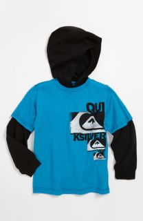 Quiksilver Dropkick Hooded Shirt (Little Boys)