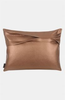 Blissliving Home Theo   Copper Faux Leather Pillow