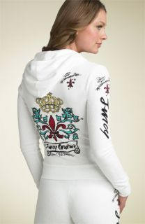Juicy Couture Viva 63 Logo Print Terry Hoody