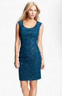 Adrianna Papell Soutache Textured Sheath Dress