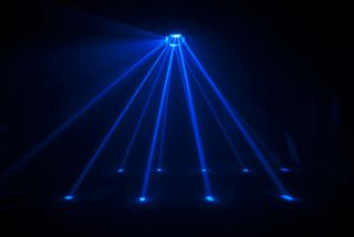 Chauvet Cubix 2 0 LED DJ DMX RGB Centerpiece Multi Color Karaoke
