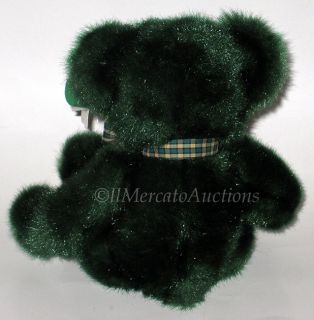 Russ Dublin 4972 Plush Irish Teddy Bear Toy Shamrock