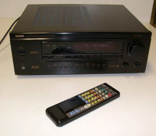 Denon AVR 3200 Home Theater Surround Sound 5 1 Stereo Receiver Amp