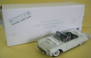 1960 Ford Thunderbird Convertible Die Cast Car Limited Edition