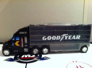 Goodyear Redbox Semi Truck Hauler 1999 DieCast Car Carry Case