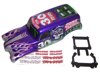 Traxxas 1 10 30th Anniversary Grave Digger Monster Jam Lexan Body