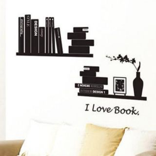 Love Reading Book Books Wall Sticker Decor Decals Vinyl Art