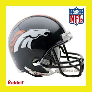 Denver Broncos Official NFL Mini Replica Football Helmet by Riddell