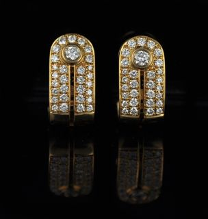 Di Modolo 18K Yellow Gold Diamond Earrings