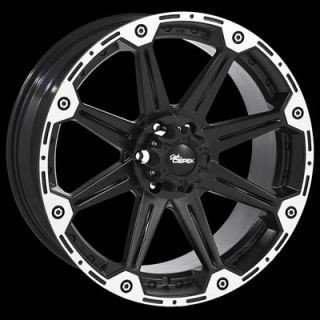 Dick Cepek Black DC Torque Wheel 17x8 5 6x135mm