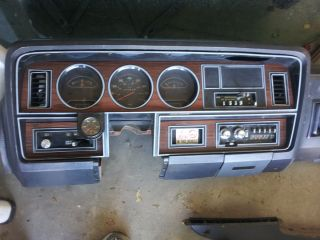 81 Dodge Power Ram Crew Cab Complete Dash Great Condition Lots more