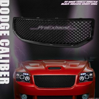 Mesh Front Hood Bumper Grill Grille ABS 06 07 10 Dodge Caliber