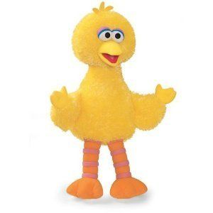 Sesame Street Big Bird Large Plush Toy Doll Gund for Sesame Street