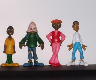 Fat Albert and Cosby Kids 1970s Vintage Plastic Figures