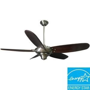 Hampton Bay Altura 56in Brushed Nickel Ceiling Fan
