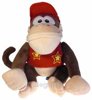 Mario Brothers Bros Donkey Kong Baby 11 Stuffed Toy Plush Doll