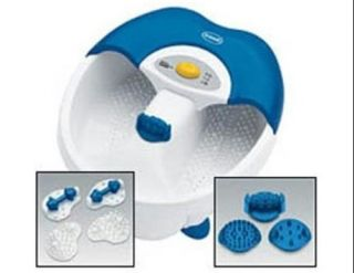 Dr. Scholls DR6624 Toe Touch Foot Spa with Bubbles and Massage
