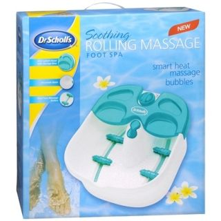 Dr. Scholls Soothing, Heated, Rolling, Dual Massage & Bubbles Foot