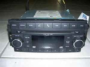 09 10 dodge journey 6 disc cd changer radio oem lkq
