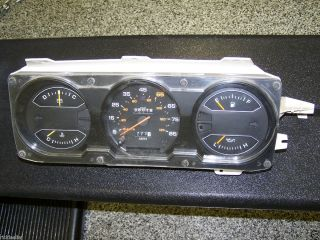1981 1989 Dodge Pickup Ramcharger Instrument Cluster Gauges