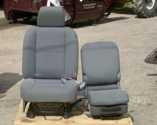 2007 2009 Dodge RAM Right Center Seat Manual Cloth