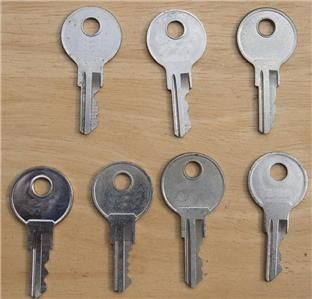 Spare Keys for RV Truck Tool Box T Hdl Toppers Windows