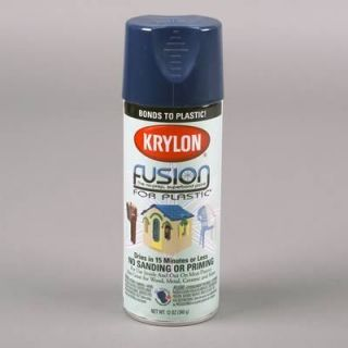 Dupli Color Paint Fusion Plastic Spray Paint Gloss Navy Blue 12 oz