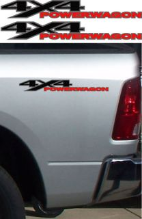 4x4 Power Wagon Dodge RAM Truck Sticker Decal