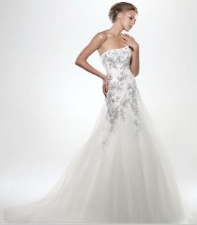 High Quality New Wedding Bridal Dress Discount Brides Applique Gown