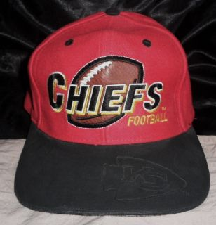 1980s KANSAS CITY CHIEFS NFL Drew Pearson SNAP BACK Snapback HAT