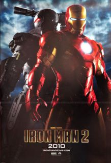 Iron Man 2 Movie Robert Downey Jr Poster 23x35 IRONMAN2