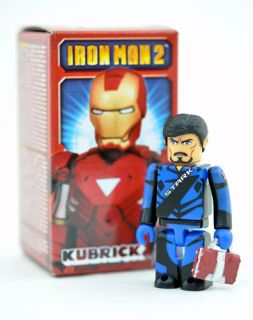 Medicom Marvel Iron Man 2 Tony Stark Kubrick Figure
