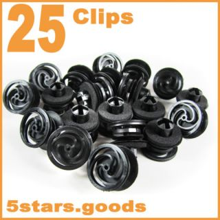 Door Trim Panel Retainer Clips for VW Passat B5 Beetle