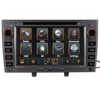 Peugeot 308 Car GPS Navigation System DVD Player