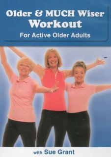 for Active Older Adults DVD New Senior Citizen 874482009871