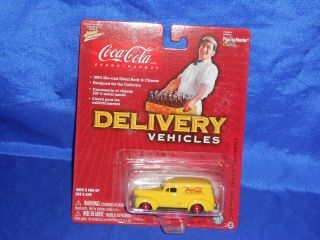 Johnny Lightning Coca Cola Delivery Vehicles 1940 Ford Sedan Delivery