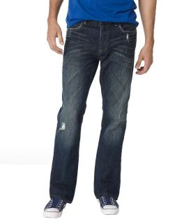 Aeropostale Mens Driggs Slim Boot Cut Jeans Style 5136