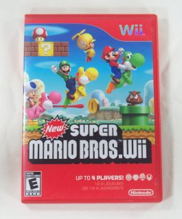 Wii New Super Mario Bros Video Game