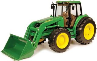 Deere 116 7430 tractor With loader Removable dual rear wheels NEW