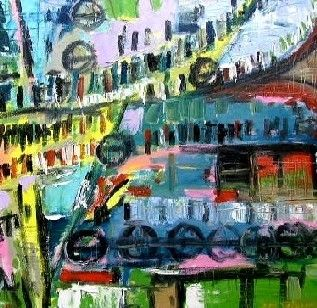 Expressionism Original Oil Painting JMW Art John Williams