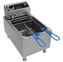 Commercial Pro 10 lb Countertop Electric French Fryer