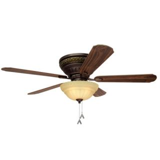 allen roth 52 Duncan Roman Bronze Ceiling Fan Model 5DN52RBD