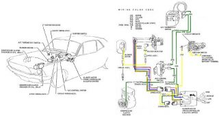 1968 Ford Mustang Color Electrical Wiring Diagrams CD