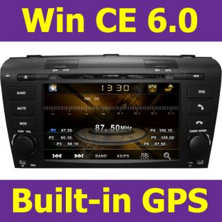 Bus Car Radio RDS DVD Player GPS Navigation System Fit Mazda 3