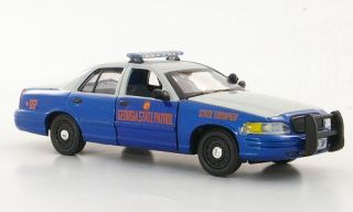 Ford Crown Victoria, Georgia State Patrol   State Trooper, Polizei (US