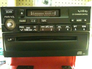 2000 2002 Mitsubishi Eclipse Factory Tape CD Player Infinity Radio