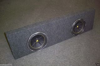 Chevy Silverado Crew Cab Box Kicker 2 10 Sub Enclosure