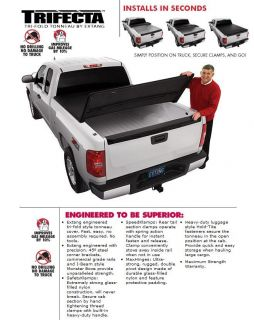 Extang Trifecta Tri Folding Tonneau Cover 2005 2012 Nissan Frontier 6