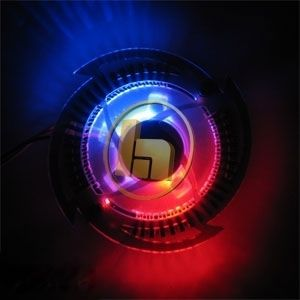 Graphic Card LED Fan Cooler for NVIDIA GeForce FX Video