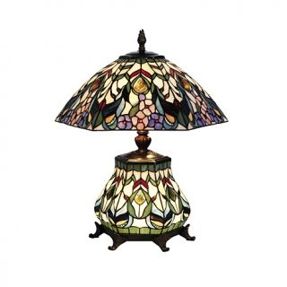 Home Home Décor Lighting Table Lamps Dale Tiffany Crystal Peony